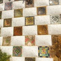 Pretty Tile at Park Guell