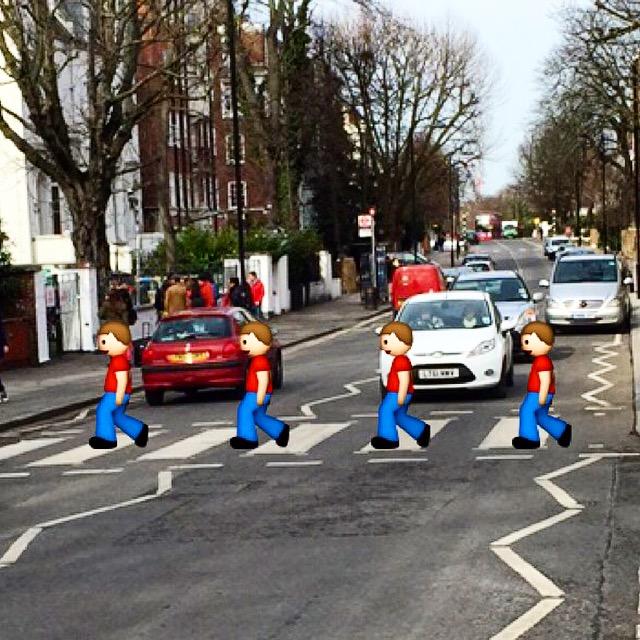 Beatles Crosswalk