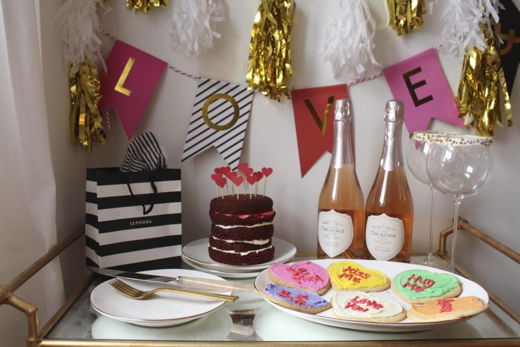 Valentine's Day Barcart 1