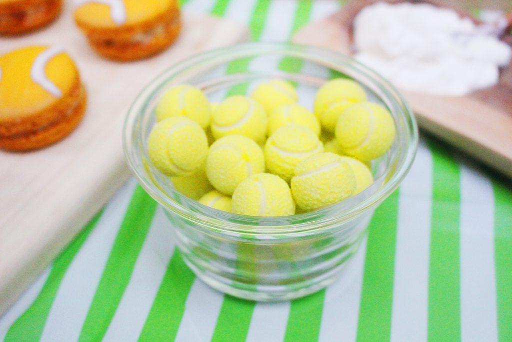 tennis ball gumboils - US Open Tennis Party