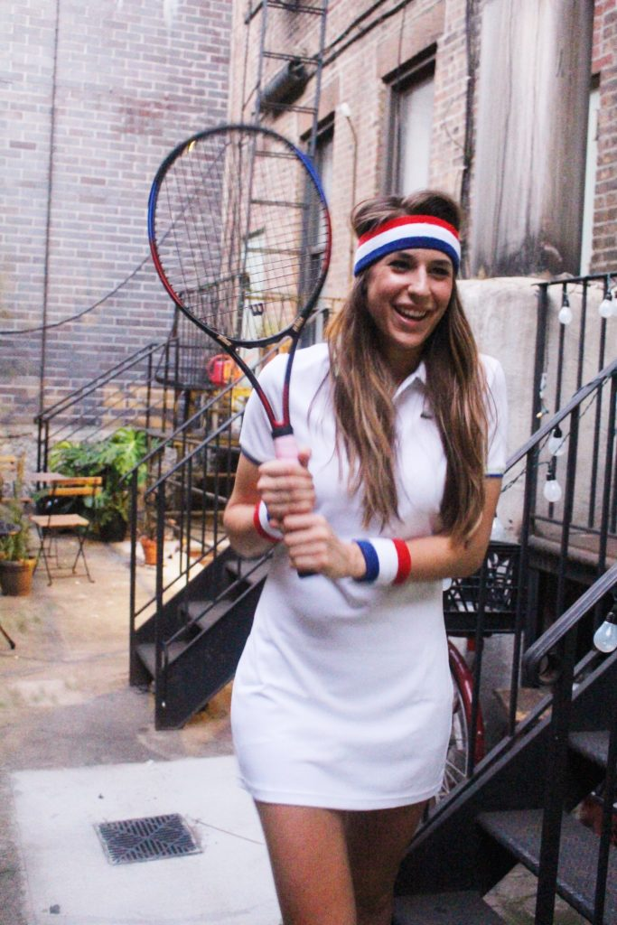 US Open themed tennis party