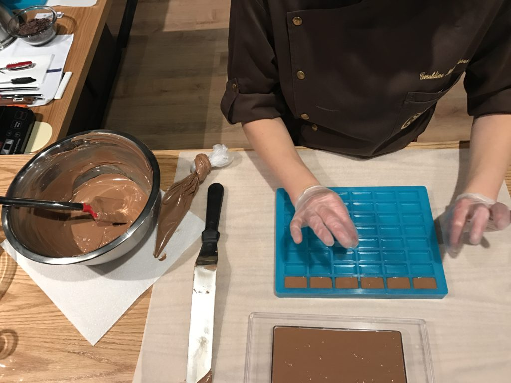 making cailler chocolate