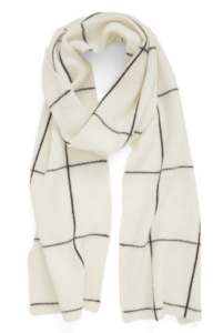 halogen windowpane scarf