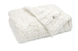 oversize knit throw
