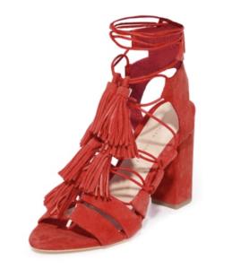 loeffler randall tassel sandals