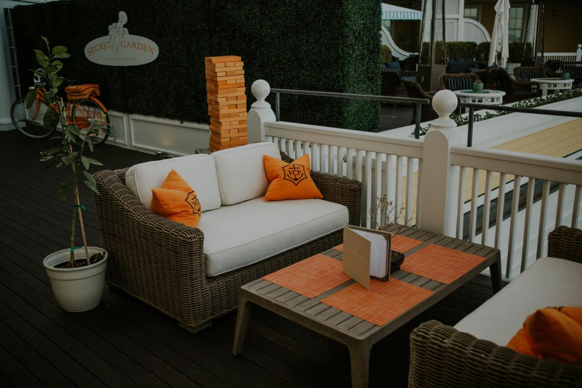Veuve Clicquot Secret Garden, Travel Destination, Ocean House Rhode Island