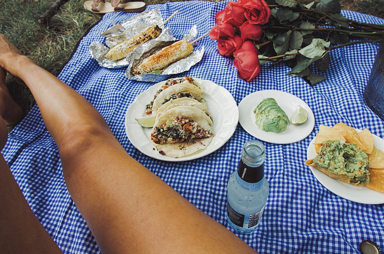 perfect picnic ideas, summer, gingham,