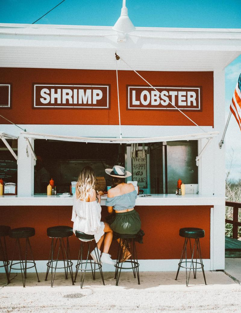 Lobster Rolls in the Hamptons