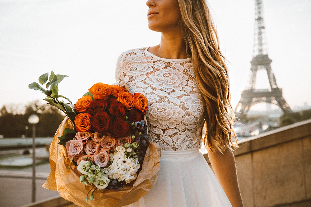 A Bride in Paris