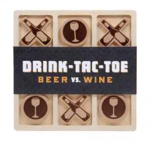 Drink Tac Toe Beer vs. Wine Game